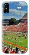 Clemson Tiger Band Memorial Stadium IPhone Case