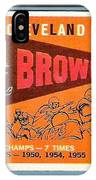 Cleveland Browns 1959 Retro Print IPhone Case