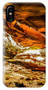 Cliff Rocks And Waterfall IPhone Case