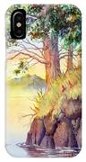 Cliff Trees IPhone Case