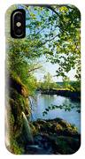 Cliffs And Trees Along Malanaphy IPhone Case