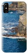 Cliffs Of Time IPhone Case
