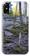 Climbing The Rocks Of Bald Mountain IPhone Case