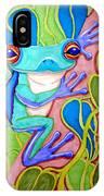 Climbing Tree Frog IPhone Case
