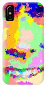 Clint Eastwood Abstract 01 IPhone Case