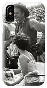 Clint Eastwood  Eric Fleming Characters Rowdy Yates Salinas California 1962 IPhone Case