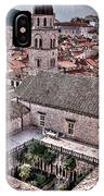 Cloistered Garden And Tower In The White City IPhone Case