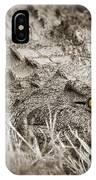 Close Crocodile  IPhone Case