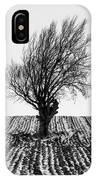 Close Tree In Snow IPhone Case