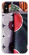 Close Up Of Colorful Khangas For Sale IPhone Case
