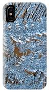 Close Up Of Frost IPhone Case