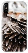 Close Up Of Heap Of Silver Forks IPhone Case