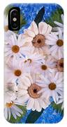 Close Up Of White Daisy Bouquet IPhone Case
