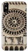 Closeup Of Assisi Cathedral IPhone Case