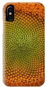 Closeup Of Sunflower IPhone Case