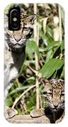 Clouded Leopards IPhone Case