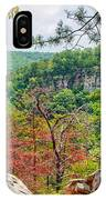 Cloudland Canyon State Park Georgia IPhone Case
