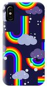 Clouds And Rainbow Cartoon Wallpaper IPhone Case