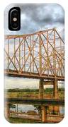 Clouds Over King Bridge IPhone Case