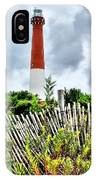 Cloudy At Barnegat Light IPhone Case