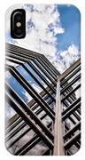Cloudy Building IPhone Case