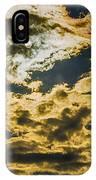Cloudy Sky Over Calvary Cemetery IPhone X Case