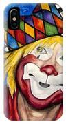 Watercolor Clown #16 Ron Maslanka IPhone Case