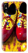 Clown Shoes And Balls IPhone Case