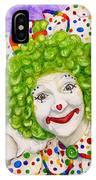 Watercolor Clown #12 Sue Marranconi IPhone Case