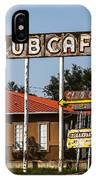 Club Cafe IPhone Case