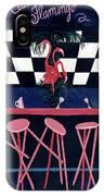 Club Flamingo IPhone Case