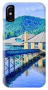 Clubhouse On Lake Tahoma IPhone Case