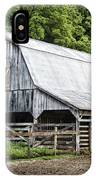 Clubhouse Road Barn IPhone Case by Cricket Hackmann