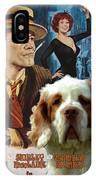 Clumber Spaniel Art - Irma La Douce Movie Poster IPhone Case