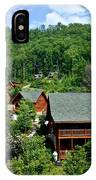 Cluster Cottages IPhone Case