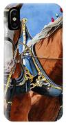 Clydesdale Duo IPhone Case