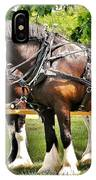 Clydesdale Horses IPhone Case