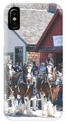 Clydesdales In Mystic IPhone Case