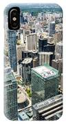 Cn Tower View IPhone Case
