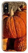 Knarly Pumpkin IPhone Case