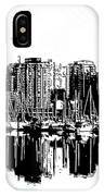 Vancouver Canada Coal Harbour Centre Panel IPhone Case