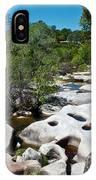 Coarsegold Creek Bed In Park Sierra-ca IPhone Case