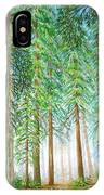 Coastal Redwoods IPhone Case