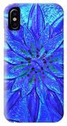 Cobalt Mandala  IPhone Case