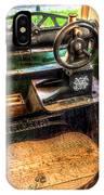 Cobblers Sewing Machine IPhone Case