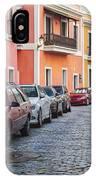 Cobblestone Streets Of San Juan Puerto Rico IPhone Case
