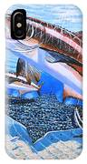 Cobia On Rays IPhone Case