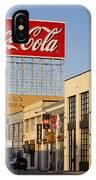 Coca Cola Billboard - San Francisco, California Usa IPhone Case