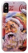 Coca Cola Christmas Bulbs IPhone Case