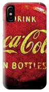 Coca Cola Dylan Quote IPhone Case